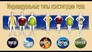 Серебряков С В   Ведическое питание  3  Конституция тела и питание