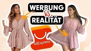 Werbung vs. Realität ALIEXPRESS Try on Haul 2019 deutsch I Schicki Micki