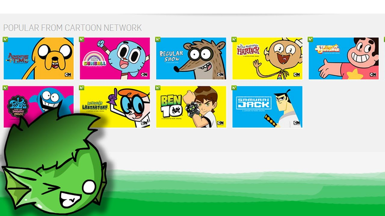 shows from cartoon network on hulu youtube. Black Bedroom Furniture Sets. Home Design Ideas