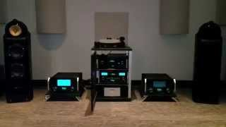 McIntosh Amps / B&W Speakers