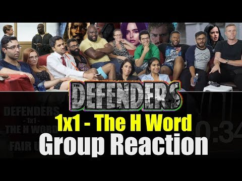 Defenders - 1x1 The H Word - Group Reaction