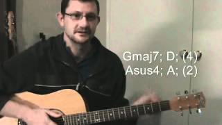 April Sun in Cuba Acoustic Guitar Lesson - Dragon