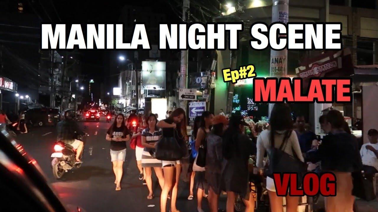 Philippine Manila nightlife | Malate night scene vlog | 필리핀밤문화 | 말라떼 밤문화거리 둘러보기