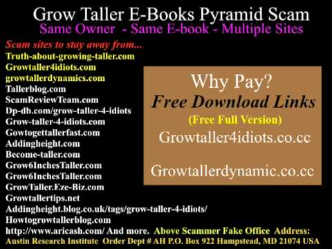 Grow Taller Dynamics Ebook