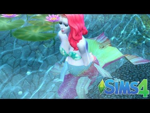 magical-mermaid-birth-in-water-|-sims-4