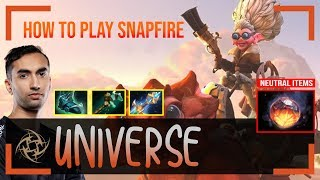 Universe - Snapfire Offlane | HOW TO PLAY Snapfire | Dota 2 Pro MMR Gameplay