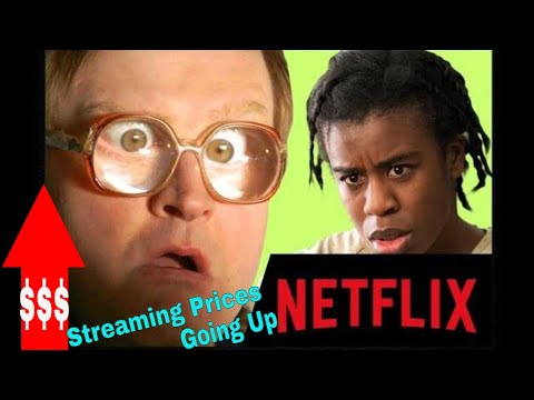 Streaming 2019 - Streaming Tv Price Hikes!  Netflix Is The First of The Services to Increase Prices Mp3