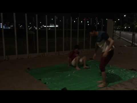 ローションサッカーしてみた!