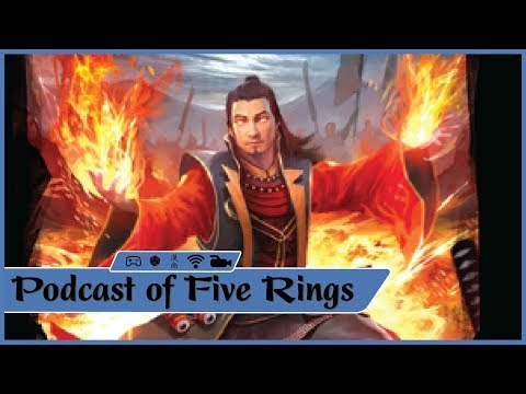 L5R Phoenix Clan Card Discussion, and Moooore!!! -  Podcast of Five Rings Episode 19