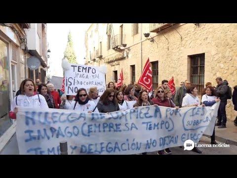 VÍDEO: Desconvocada temporalmente la huelga de limpieza en los institutos de la Subbética