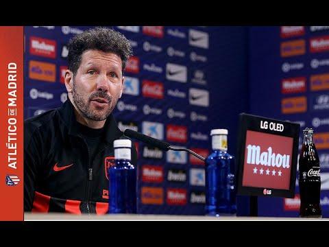 Rueda de prensa de Simeone previa al Atleti-Leganés