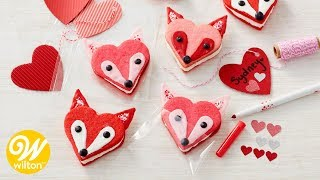 How to Make Foxy Cookie Sandwiches| Wilton