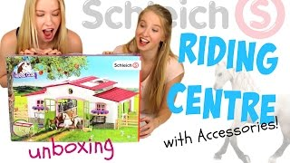 Schleich 2016 Horse Club Riding Centre with Accessories Unboxing