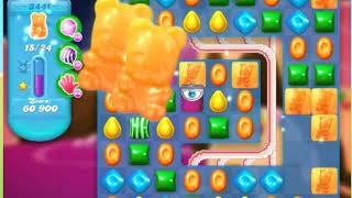 Candy Crush Soda Saga Level 3441 ***