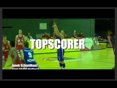 Janek Schmidkunz drops 27 Points against the Licher Bären