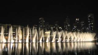 Dubai Fountain - Whitney Houston: I will always love you