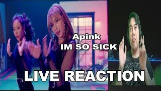 APink im so Sick Live Reaction