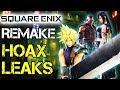 HOAX LEAKS - Final Fantasy 7 Remake #FF7R