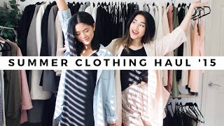 Summer Collective Clothing HAUL '15 (TRYON)