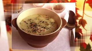 Английский куриный суп с плавленым сыром