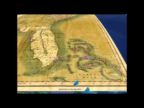 Key Biscayne from Florida Maps: Then & Now