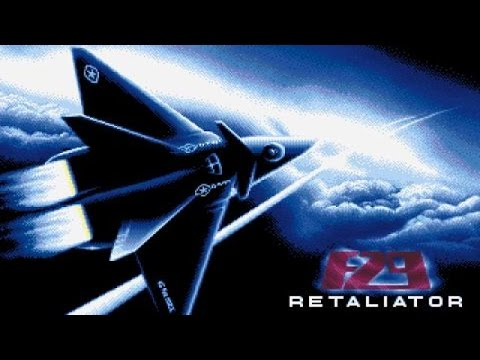 F-29 Retaliator gameplay (PC Game, 1989)