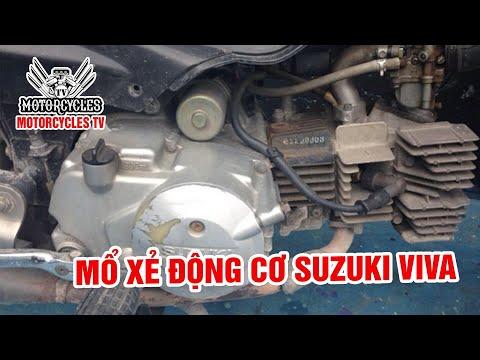Video 225: Chi Tiết Động Cơ Huyền Thoại Suzuki Viva 110 | Motorcycle TV