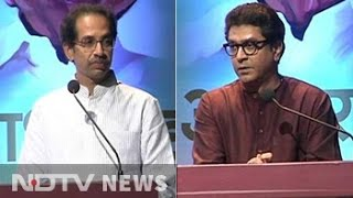Uddhav and Raj Thackeray share stage on Sharad Pawar's birthday