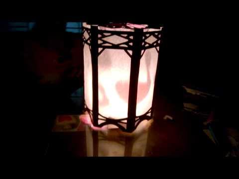 Đèn kéo quân handmade