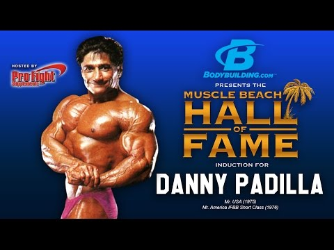 Muscle Beach Hall of Fame Induction of Danny Padilla