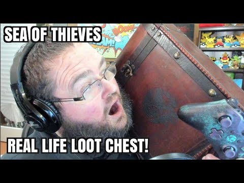 SEA OF THIEVES REAL LIFE LOOT CHEST!