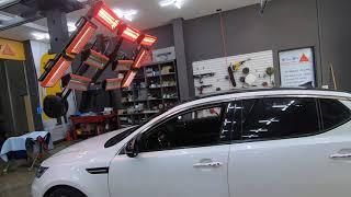 기아자동차 K5 앞유리교체, 뒷유리교환등의 자동차유리수…