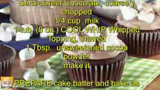 Hot Cocoa Marshmallow Cupcakes