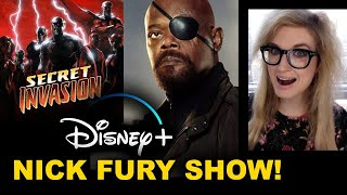 Nick Fury Disney Plus - Secret Invasion Show