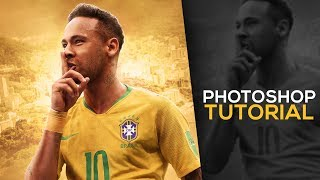 Photoshop Tutorial-Football Poster Desin Tutorial - GraphicsD Design ( #Photoshop)