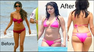 Selena gomez has gained weight but why? what is doing that causing her gain? i share my insights into and recent weig...