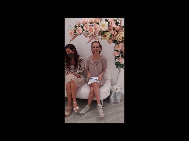 La scelta dell'abito da sposa nella testimonianza di Cristina