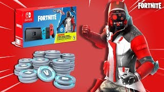 *NEW* Fortnite DOUBLE HELIX SKIN BUNDLE! - LEAKED NINTENDO SWITCH ITEMS! (Fortnite Battle Royale)