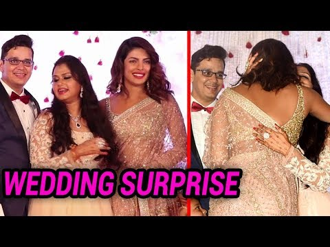 Priyanka Chopra SAREE Look At her Managers Daughter's Wedding