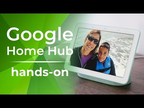 Google Home Hub Hands On