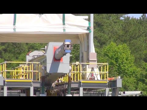 Office Of Naval Research - Electromagnetic Railgun Multi-Shot Salvos Firing Tests [1080p]