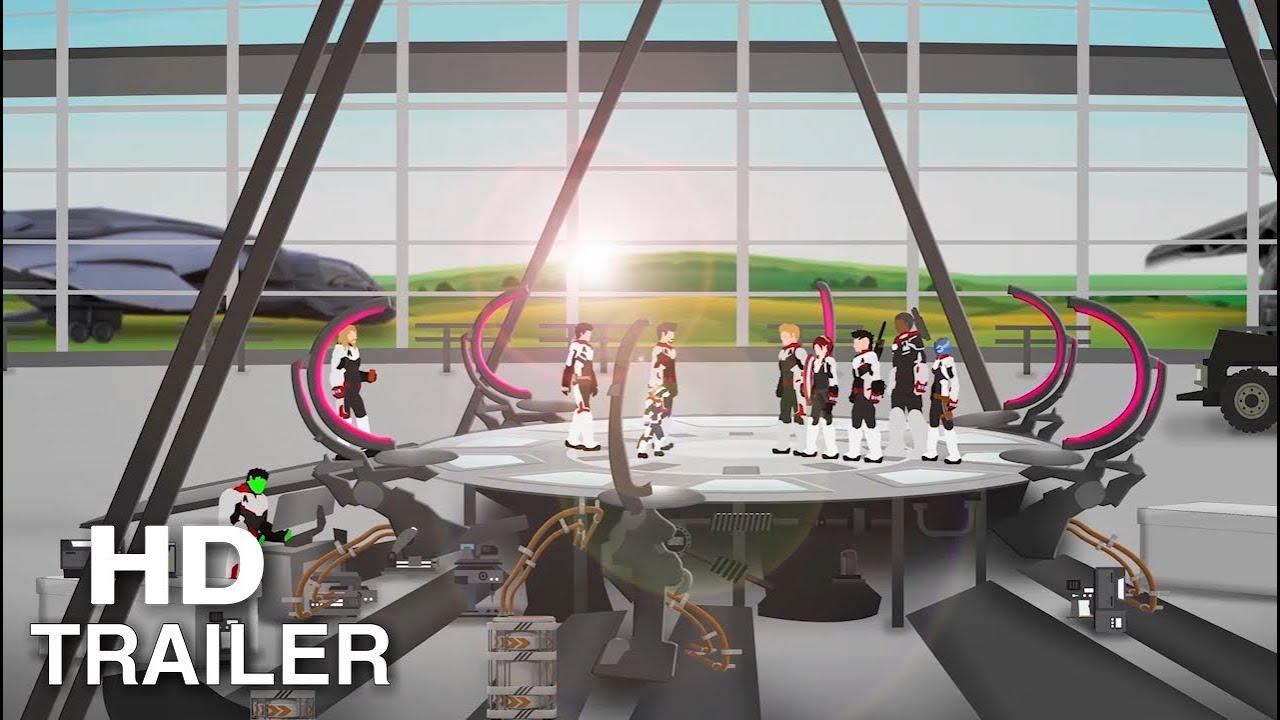 Pivot Avengers Endgame Trailer