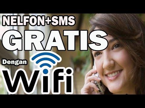 Cara Baru TELPON+SMS GRATIS Lewat WIFI di Android