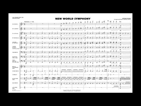 New World Symphony by Antonin Dvorak/arr. Michael Sweeney