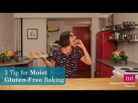 3 Secrets to Moist Gluten-Free Baking