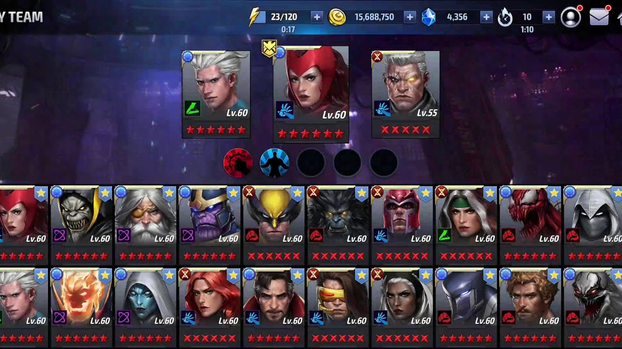 how to get free 4 in marvel future fight
