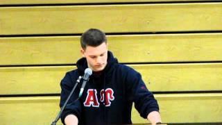 Michael - Veterans Day Speech 2011