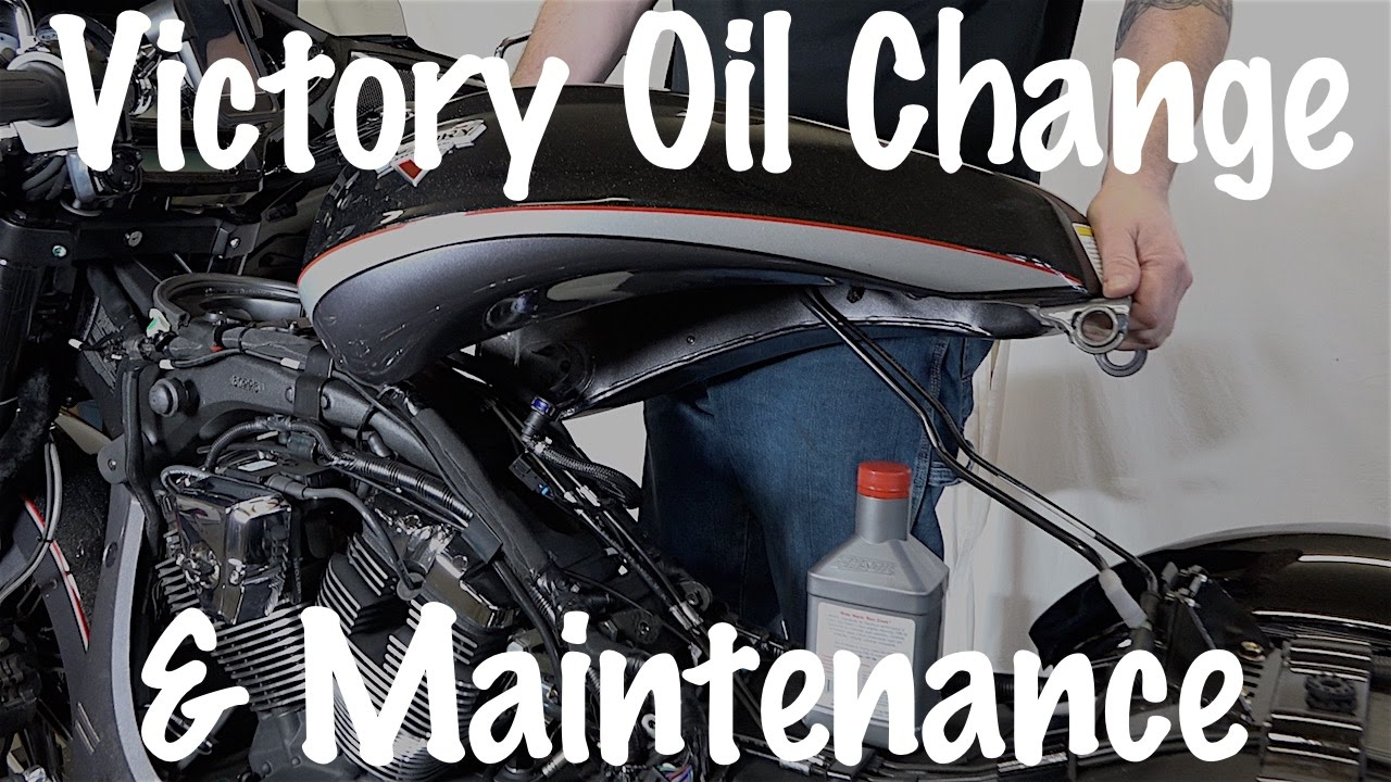 How to do routine maintenance oil change on Victory Motorcycle 106 Victory Jackpot Wiring Diagram on