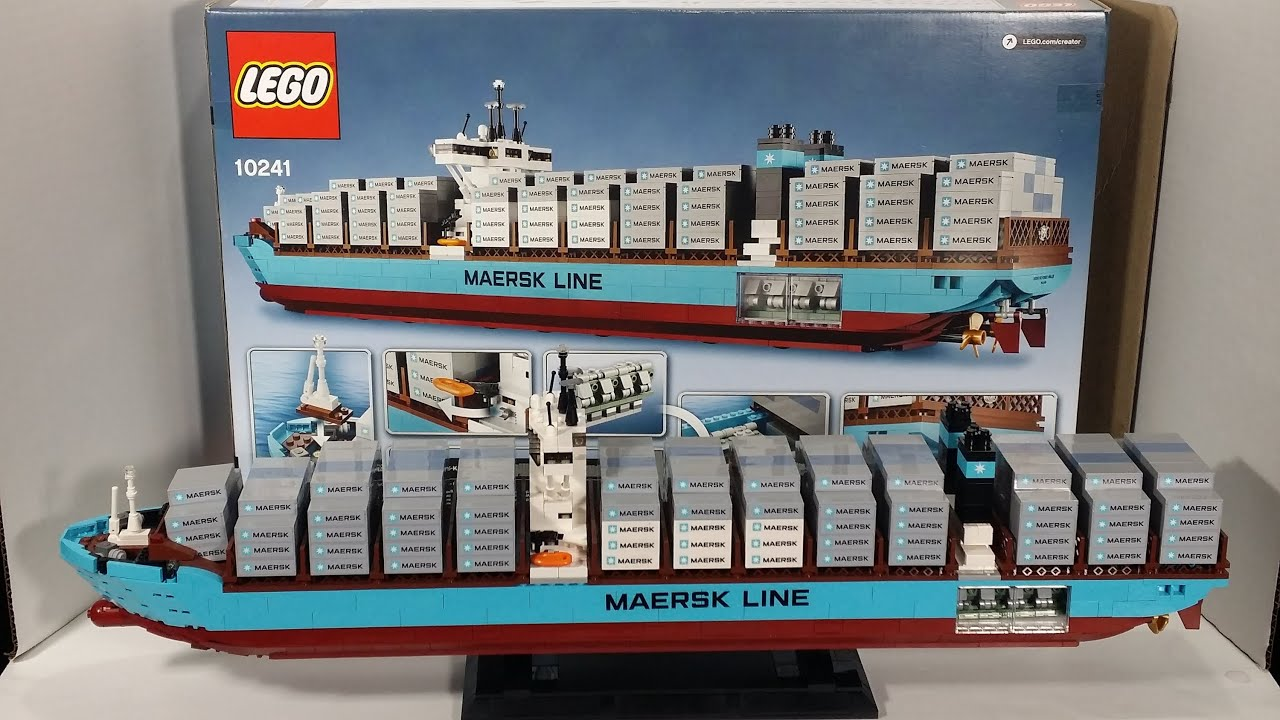 Room Creater Lego Maersk Triple E Build Review Lego 10241 Everything