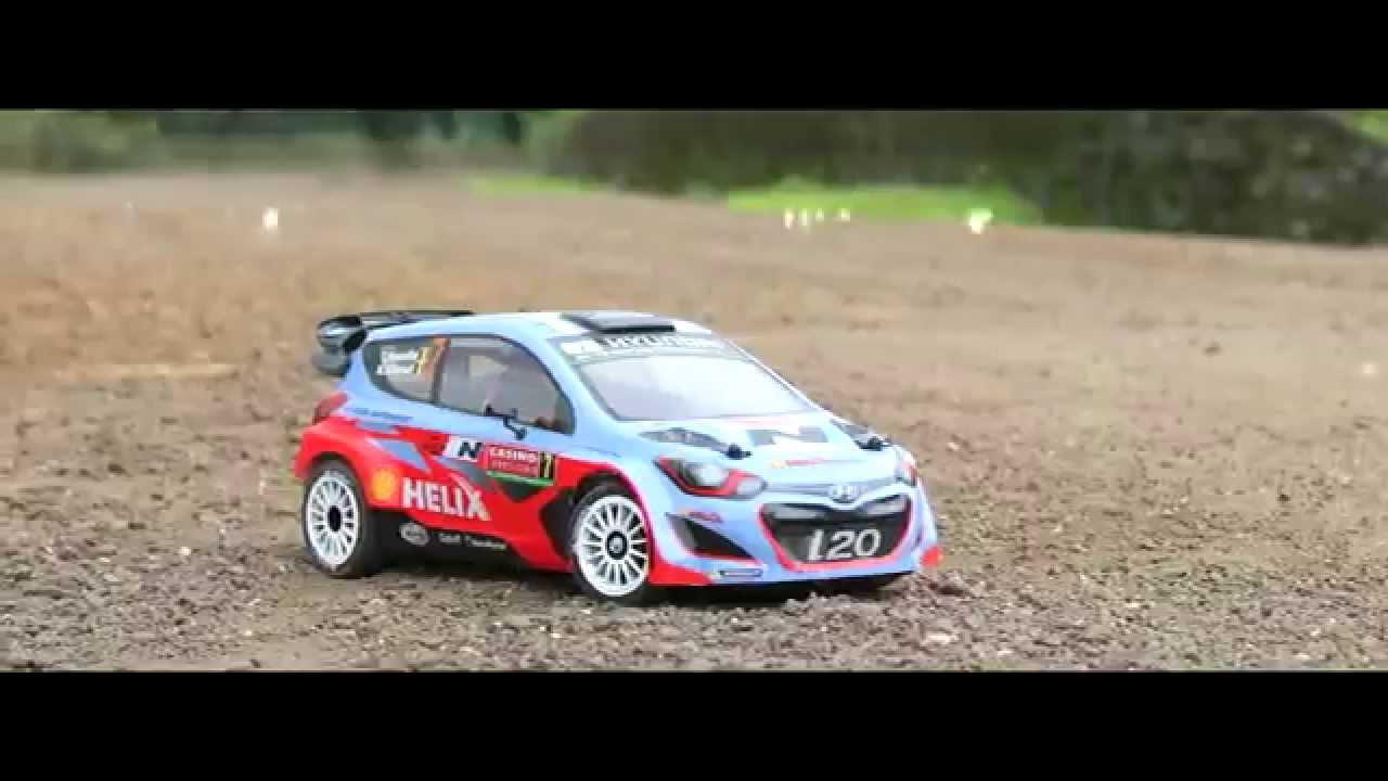 Hyundai I20 Wrc Kicking Dirt